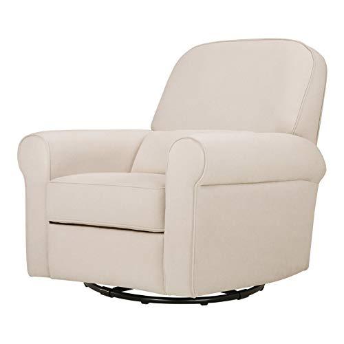 Davinci Ruby Recliner and Swivel Glider, Cream (Buy To Chairs Where Glider)