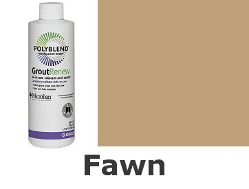 Fawn Flooring - Polyblend #156 Fawn 8 fl. oz. Grout Renew Colorant