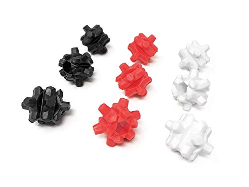 Nutribomb Thunderballs Mixing Balls für Ihren Protein-Shaker-Becher – Ersatz-Shaker-Bälle – Shaker Bottle Agitator (9…