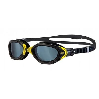 Zoggs Predator Flex Black|Yellow Swimming Goggles