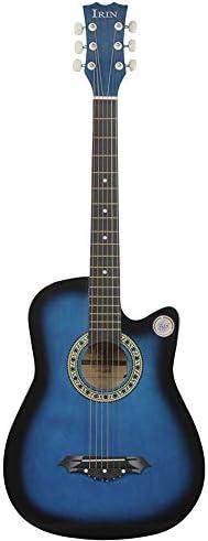 アコースティックギター 大人の初心者のためのアコースティックギターアコースティックギター 小学生 大人用 ギター初級 (色 : J, Size : 41 inches)