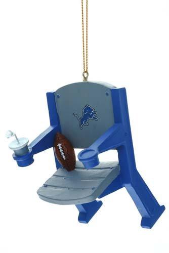 Detroit Lions Stadium Chair Ornament
