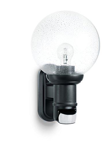 Steinel L560 S, Buitenlamp, Zwart, Max. 60 W, E 27, 140 ° Bewegingsmelder, 12 M Bereik, Klassiek Design.