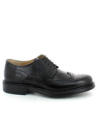 Zapatos Sicari Negro Hombre De Para Cordones Romano H5ZpOqwq