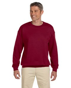 Gildan Men's Heavy Blend Crewneck Sweatshirt - Medium - Cherry Red