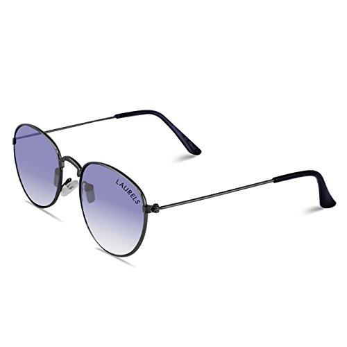 Laurels Royal UV Protected Oval Shaped Sunglasses – Blue Lens – Ls-Ryl-030202