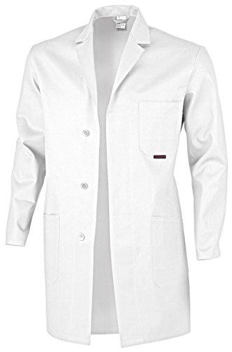 Blaumann 100 Blanc Coloris Qualitex Coton Arbeitskittel plusieurs 58 Berufsmantel Disponibles Eqtx6wB