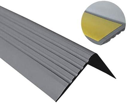 Treppenkantenprofil PVC Gummi SELBSTKLEBEND Vinyl Winkelprofil 50x42 RGP BEIGE 130CM