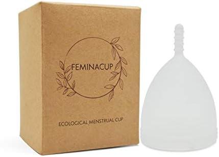 Zero Waste | Copa menstrual | Ecológico | 100% BPA + dioxina + libre de alergias | Alternativa de tampón orgánico | Save Planet | Más saludable – más ...
