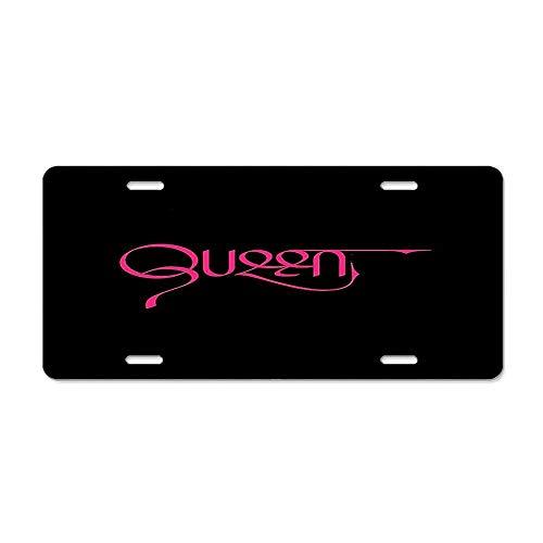 Get Noy Queen Nicki Minaj License Plate Cover Aluminum Car Tag Cover License Tag Holder License Plate Frame for US Vehicles Standard