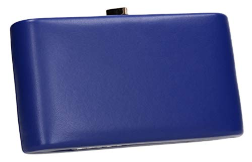 Clutch Womens Blue Ruth Love Heart SWANKYSWANS Bag Royal Party Prom Box xtHq0n7wp