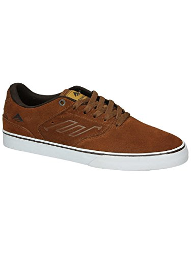 Emerica The Reynolds Low Vulc, Color: Brown/White/Gum, Size: 37 EU / 5 US / 4 UK