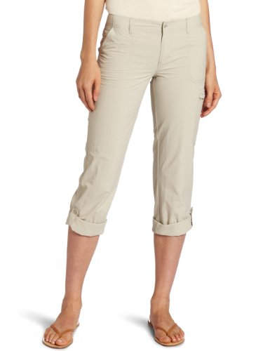 Roll Columbia - Columbia Women's PFG Aruba Roll Up Pant , Fossil, 12