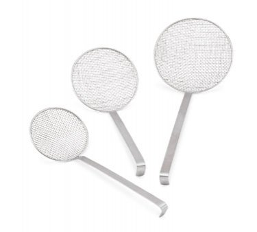 Vollrath 47718 8'' dia x 14'' L Wire Mesh Skimmer, 6 Pack by Vollrath Co.