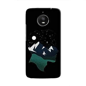 Cover It Up - Lost in Head Moto E4 Plus Hard Case