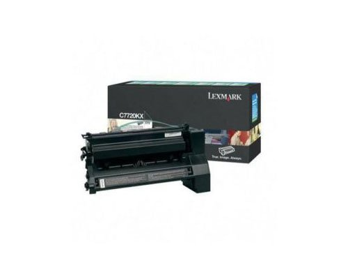 - LEXC7720KX - Lexmark C7720KX Extra High-Yield Toner