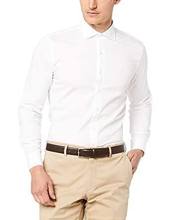 Van Heusen Slim Fit Business Shirt, White, S