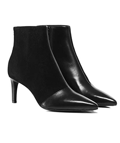 and Noir Femmes Bone beha Noir Bottines Daim Rag de 7qf1vCnqw