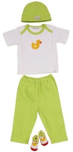 Elegant Baby Quack Quack 4 Piece Fashion Set (Discontinued by Manufacturer)