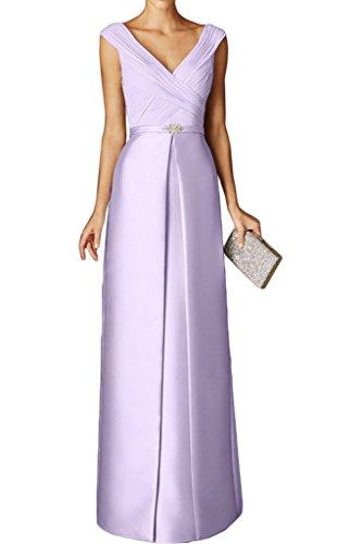 Ballkleider Abendkleider La Braut Flieder Marie Ausschnitt Schnitt Bodenlang Kurzarm Partykleider V Tuerkis Schmaler A0Yr4Ag