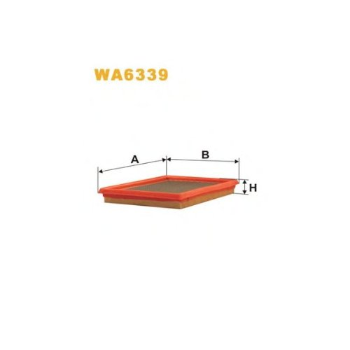 Wix Filter WA6339 Air Filter: