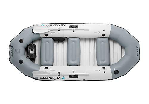 Intex 68376NP - Barca Hinchable Mariner 4 con 2 Remos 328 x 145 x ...