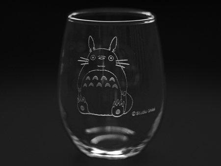 NORITAKE My Neighbor Totoro Tumbler Glass Cup ''Totoro and Acorn'' Studio Ghibli T45102/TTR-1