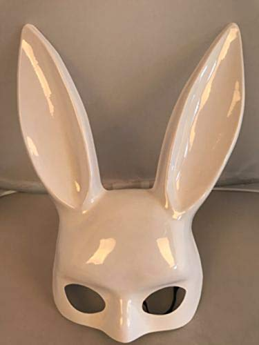 1Pc Halloween Laides Bunny Mask Party Bar Nightclub Costume Rabbit Ears Mask UK AS picture shown2]()