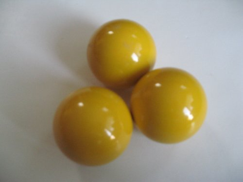 Epco Balls Bocce - EPCO Bocce Yellow Pallinos - 3 Pack