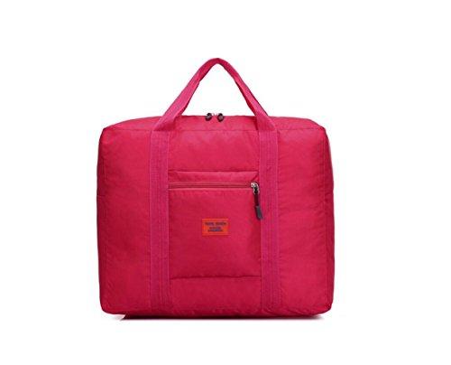 DESIGN FREUNDE Sporttasche Travelbag Reisetasche Gepäck Reisegepäck Sporttasche Trainingstasche Tasche Koffertasche Gepäcktasche Trollitasche Sporttasche Travelbag Tasche PINK