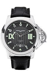 Jorg Gray Leather Grey Dial Men's watch #JG1850-21