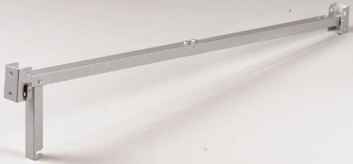 Prime-Line Sliding Door Bar Chrome Finish Steel