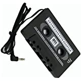 L&C®CAR AUDIO TAPE CASSETTE ADAPTER IPHONE IPOD MP3 CD RADIO NANO 3.5mm JACK AUX