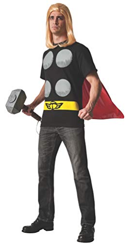 Rubie's Men's Marvel Universe Thor Adult Costume T-Shirt and Cape, Multi, Large