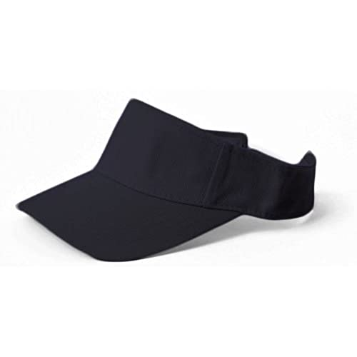 New Plain Sports Visors (Comes In Many Different Colors), Black