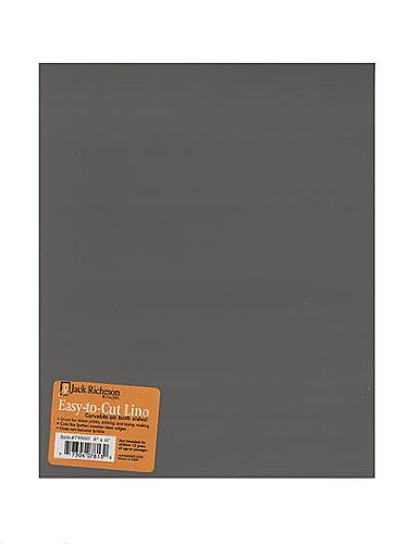 Jack Richeson Unmounted Easy-to-Cut Linoleum 8 in. x 10 in. [PACK OF 2 ] by Jack Richeson
