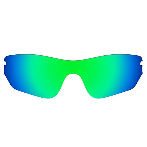 Revant Polarized Replacement Lens for Oakley Radar EdgeEmerald Green MirrorShield