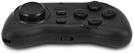 Gamecontroller Draagbare draadloze Bluetooth multifunctionele gamepad sluiter op afstand Bluetoothmuis multimediacontroller compatibel met mobiele telefoon tablets pcZwart