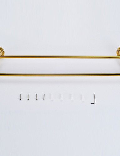 LH Towel Bar / Polished Brass / Wall Mounted /60*15*10 /Brass /Antique /60 15 0.728