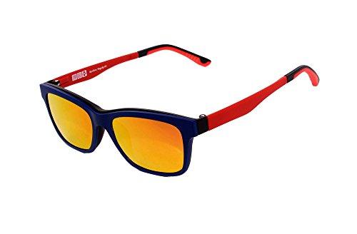 con Gafas Clip Magnético Polarizado Gafas Montura MagClip® Revo RMCG Gris Sol RMCRED Polarizados de Rainbow de de Red Clip Sol RMCBL 08SSEUY