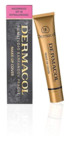 Dermacol Make-up Cover - Waterproof Hypoallergenic Foundation 30g 100% Original Guaranteed from Authorized Stockists