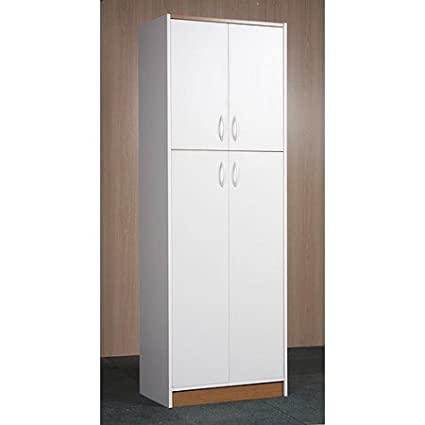 Superbe Orion 4 Door Kitchen Pantry, White