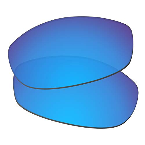 Predrox Blue Mirror Tightrope Lenses Replacement for Oakley Sunglass OO4040 ()