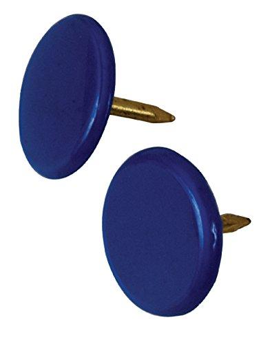 The Hillman Group 122678 40PC Blue Thumb TACK,