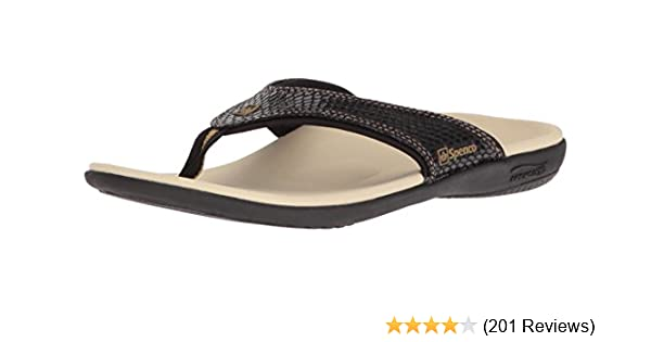 858c04a1e55 Amazon.com  Spenco Women s Yumi Snake Flip Flop  Shoes