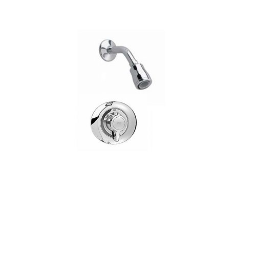 Shower Height Kit (American Standard T372128.002 Colony Shower Only Trim Kit with Flowise Water Saving Showerhead Shower Arm, Polished Chrome)