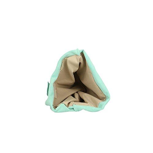 Cm 33x39x10 en Marina cuir à sac bandoulière Borse véritable Chicca xOAwUq84Bn