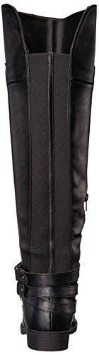 LifeStride Women's Delilah Equestrian Boot, Black, 7.5 M US by LifeStride (Image #2)