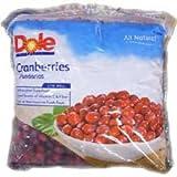 Dole Individual Quick Frozen Cranberry, 5 Pound - 2 per case.