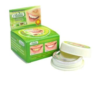 Thai Herbal Toothpaste - Thailand original herbal clove toothpaste anti-bacteria,whitening remove smoke tea yellow stains plaque halitosis Dental product